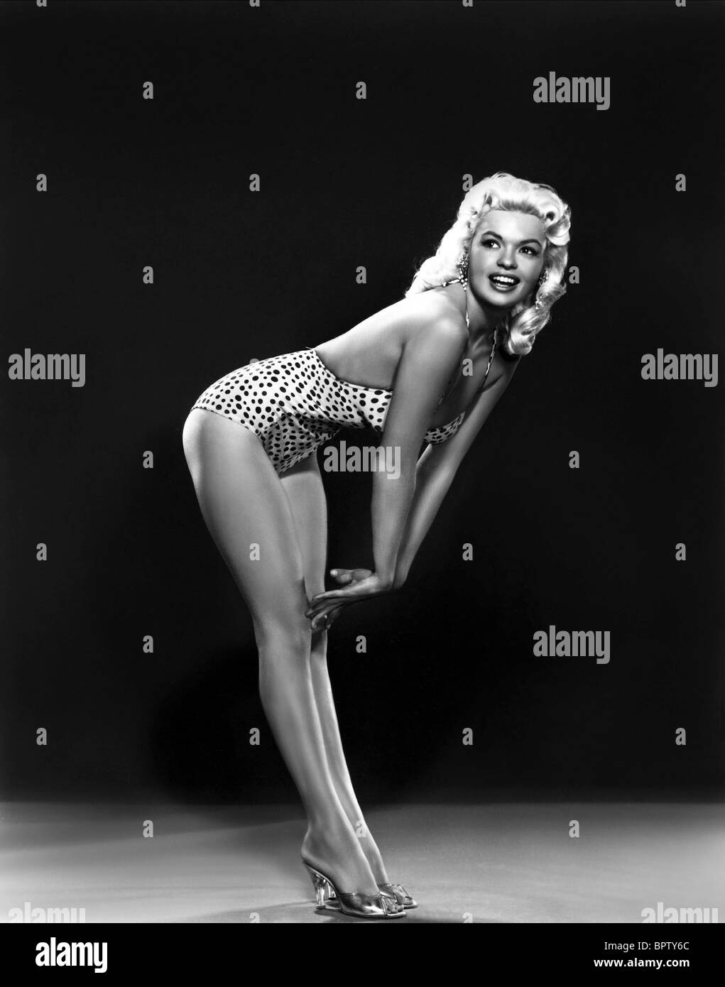 JAYNE MANSFIELD ACTRESS (1955) - Stock Image