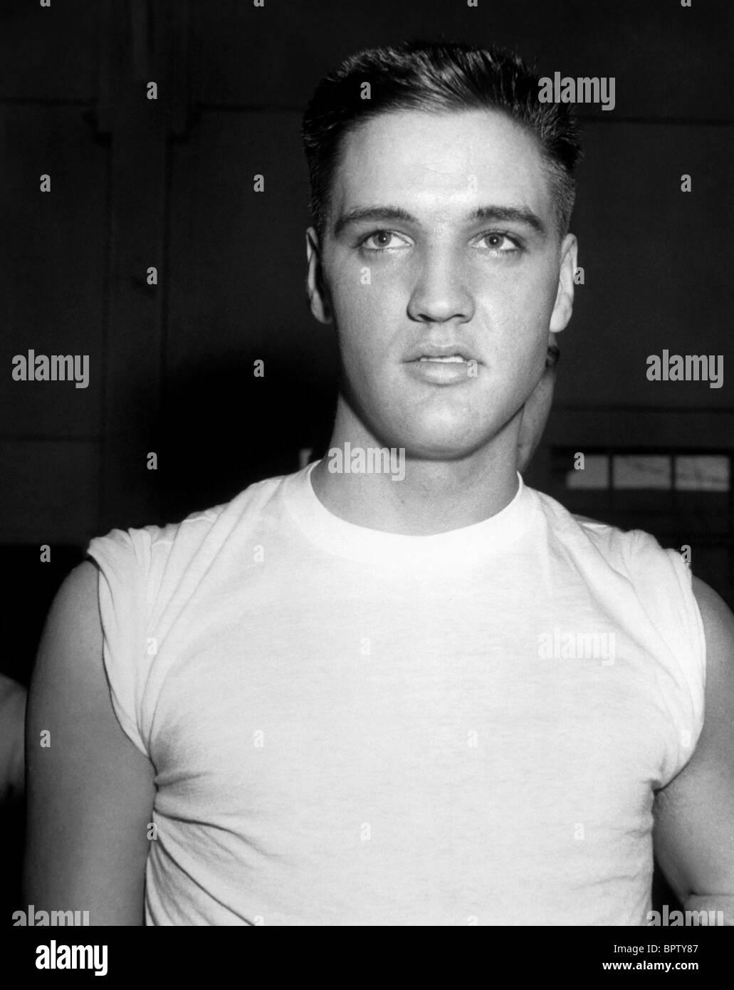 ELVIS PRESLEY IN THE ARMY SINGER ACTOR 1958