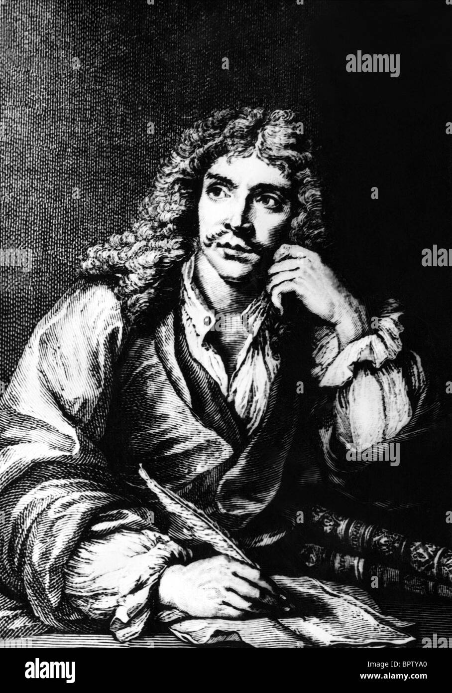 MOLIERE PLAYWRIGHT (1753) - Stock Image
