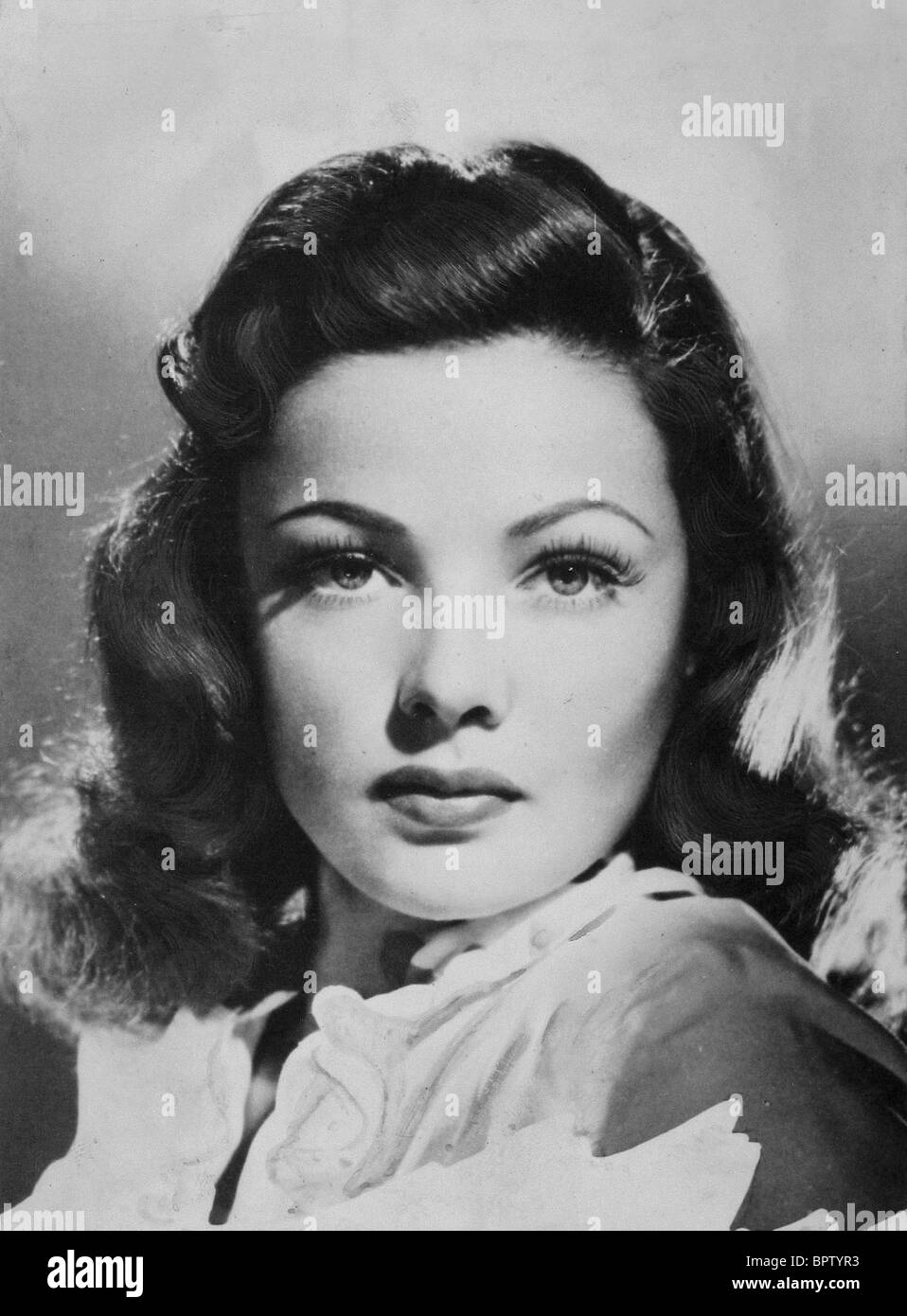 GENE TIERNEY ACTRESS (1945) - Stock Image