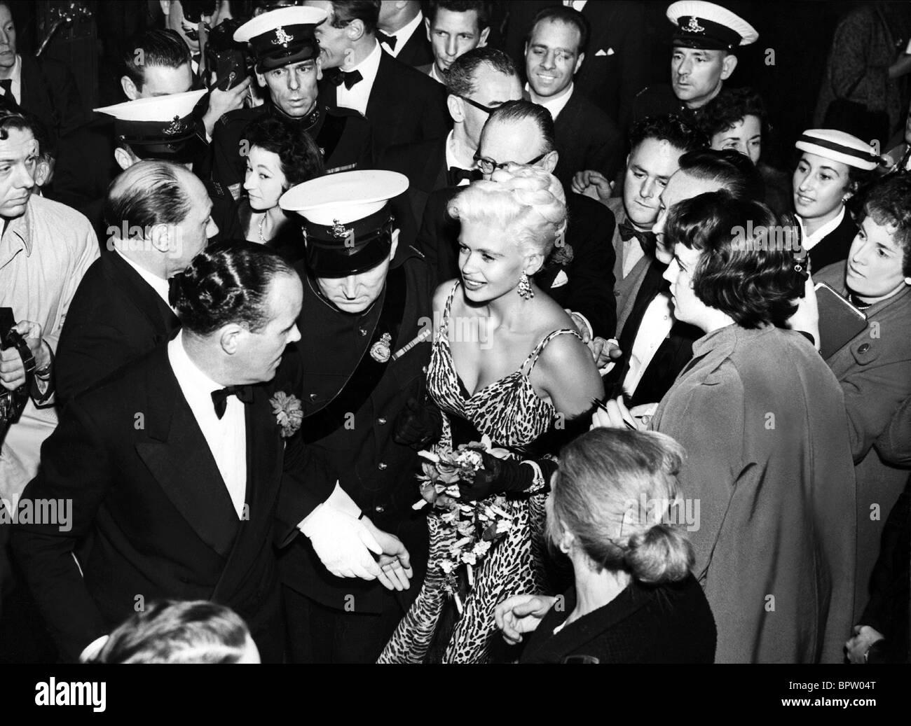 JAYNE MANSFIELD WILL SUCCESS SPOIL ROCK HUNTER PREMIERE (1957) - Stock Image
