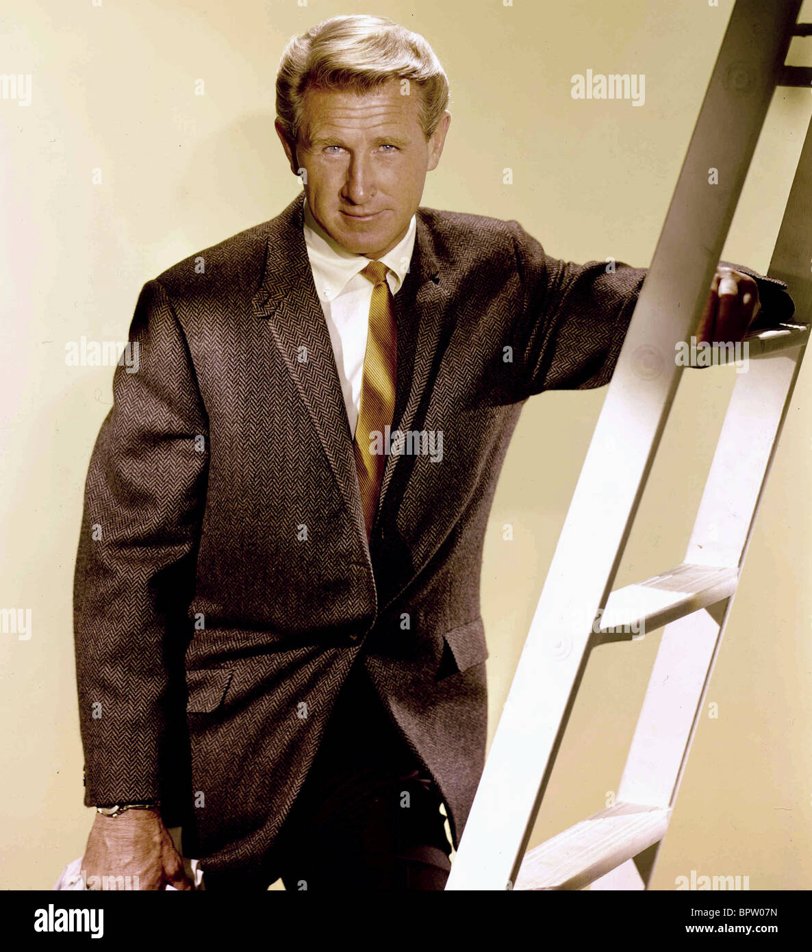 LLOYD BRIDGES ACTOR (1965) - Stock Image