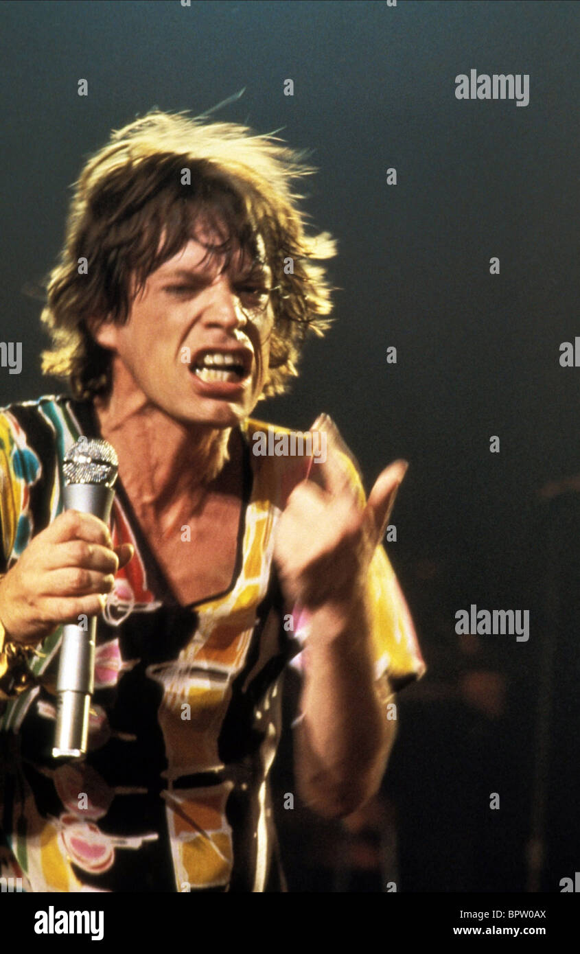 MICK JAGGER MUSICIAN 'ROLLING STONES' (1970) - Stock Image