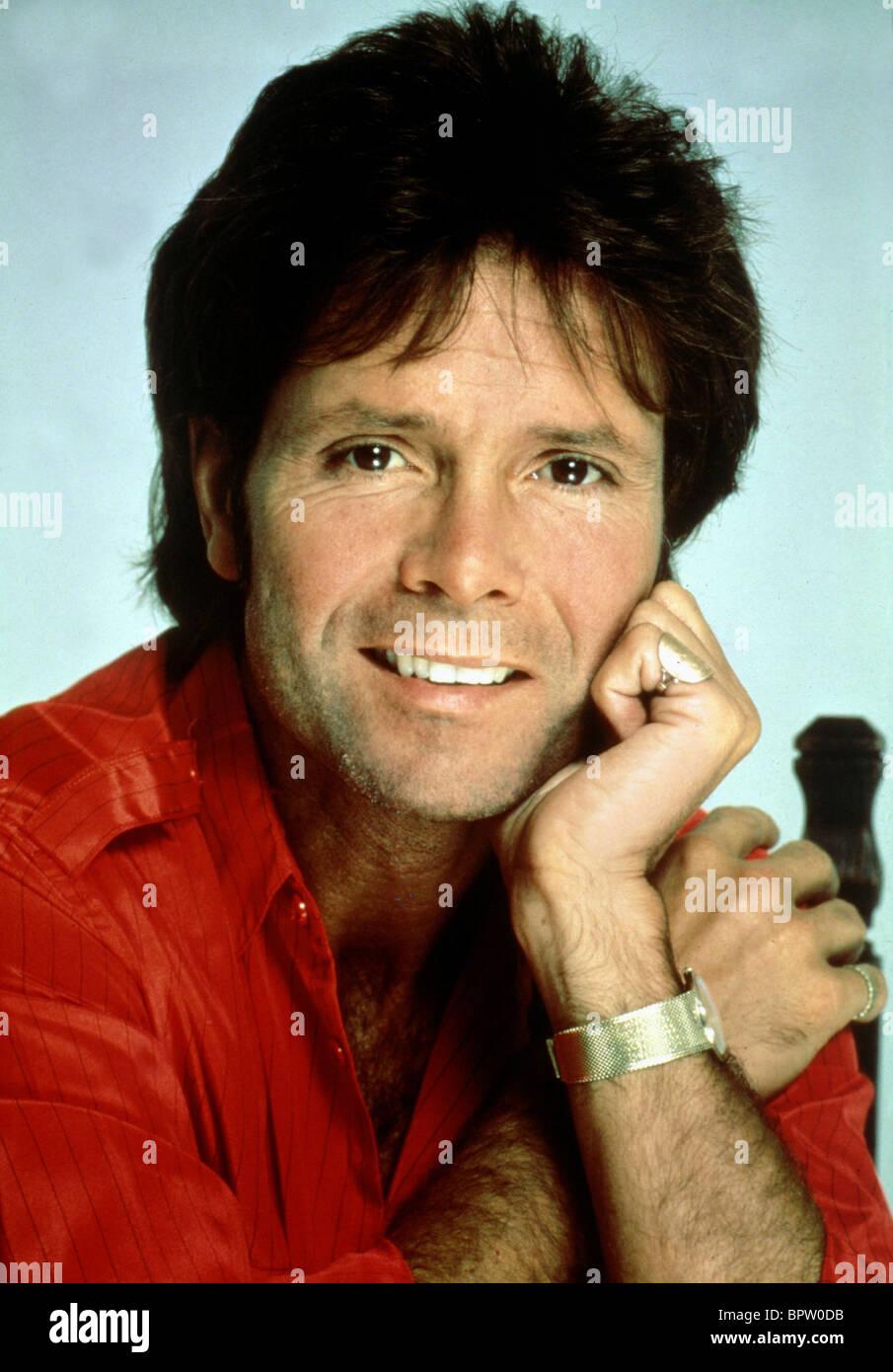 CLIFF RICHARD SINGER (1980) - Stock Image