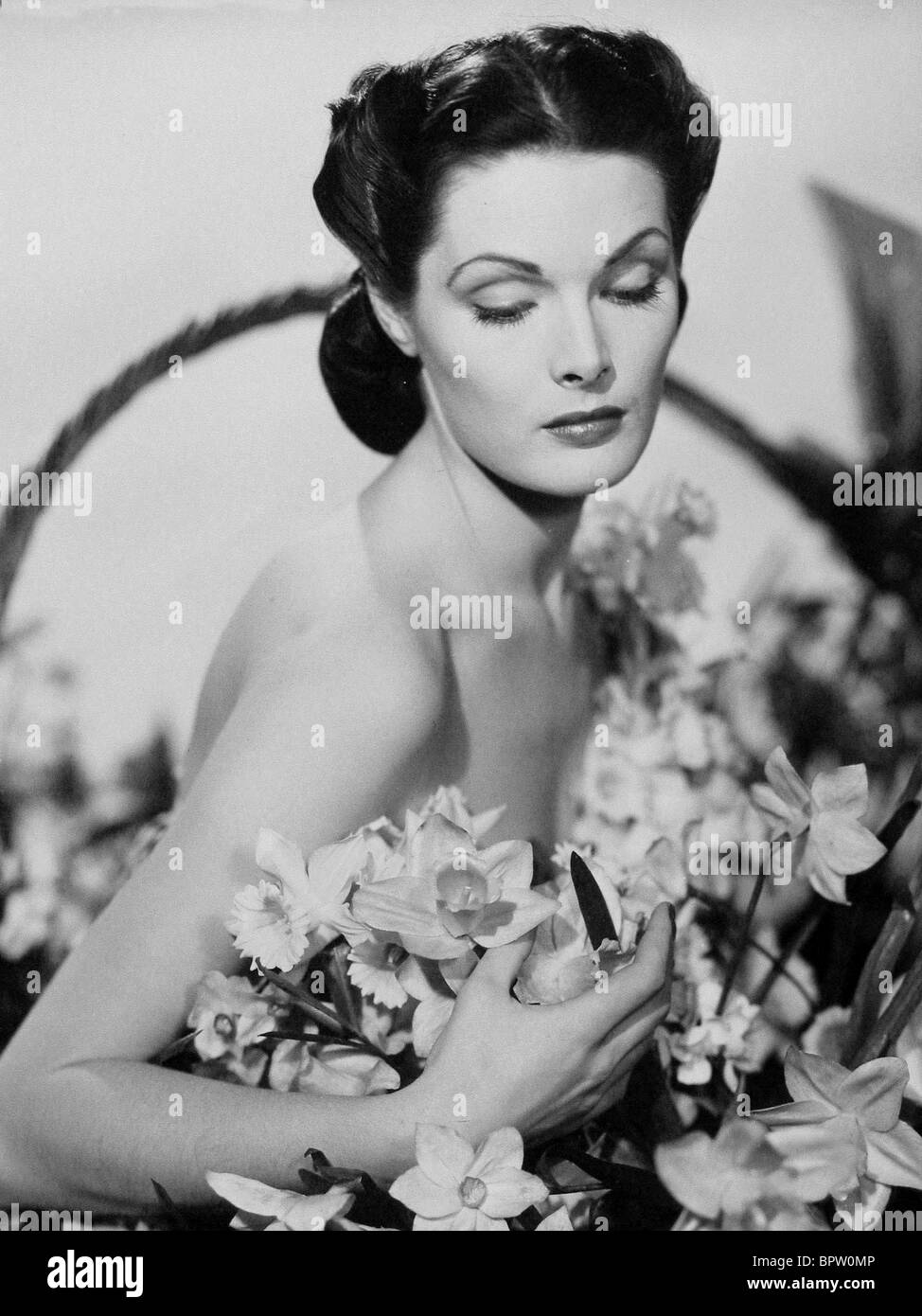 UNKNOWN ACTRESS ACTRESS (1940) - Stock Image