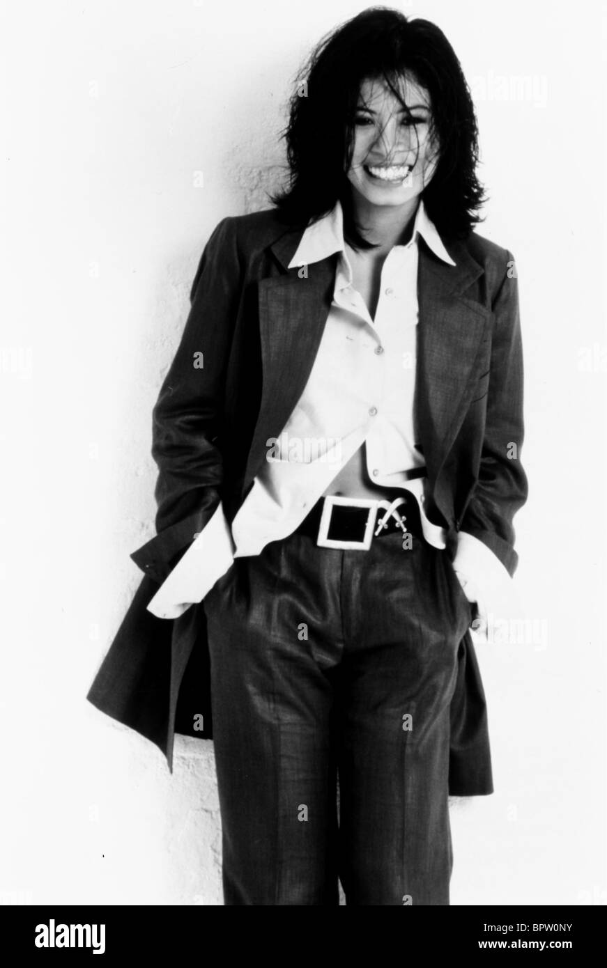 VANESSA MAE MUSICIAN VIOLIN PLAYER (1980) - Stock Image
