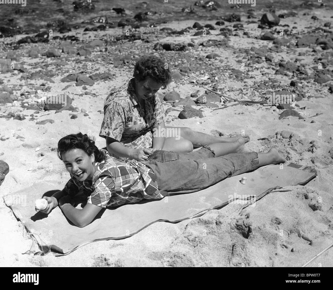 JEAN SIMMONS ACTRESS (1950) - Stock Image