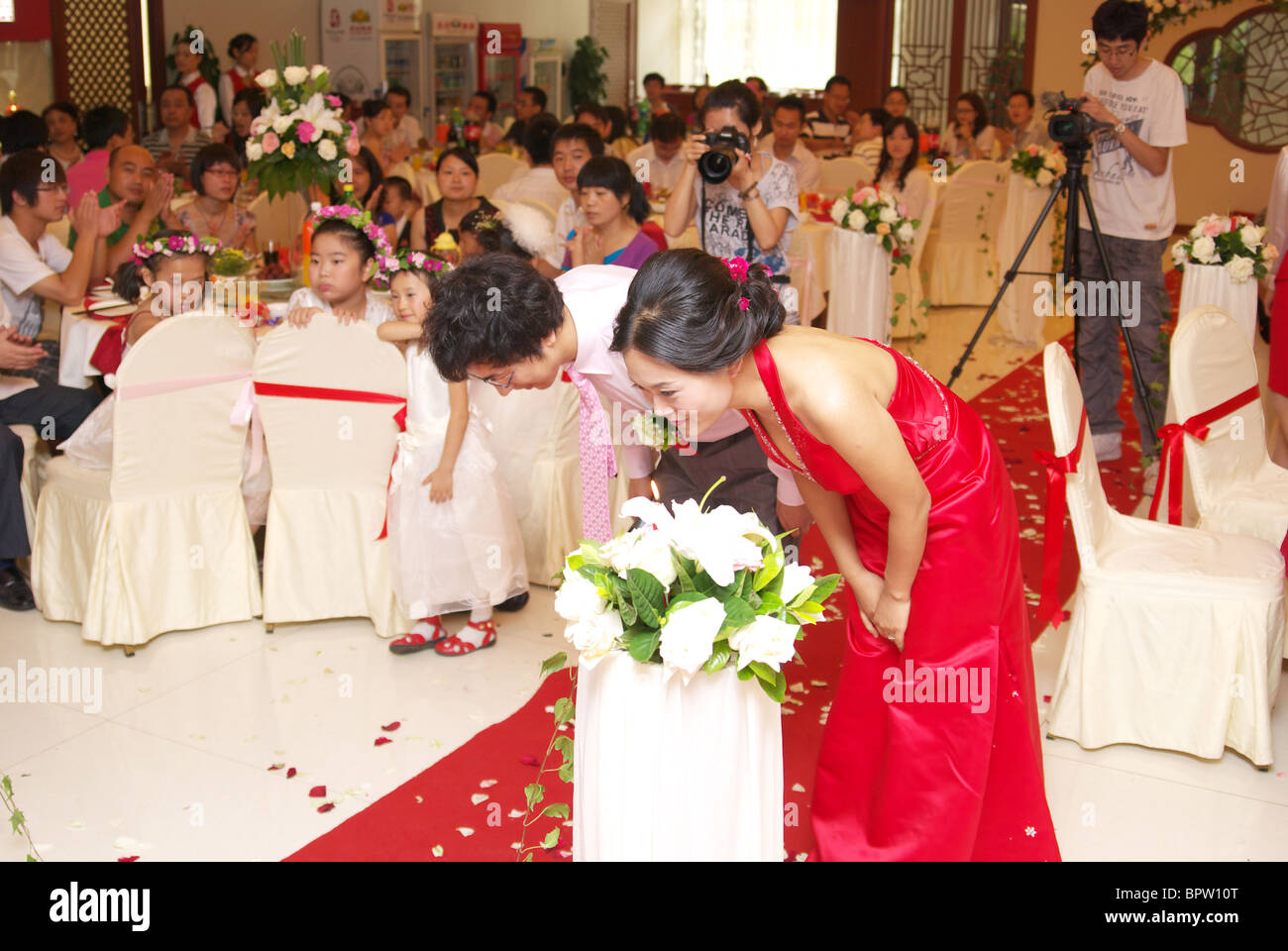 Chinese Wedding Banquet Stock Photos & Chinese Wedding Banquet Stock ...