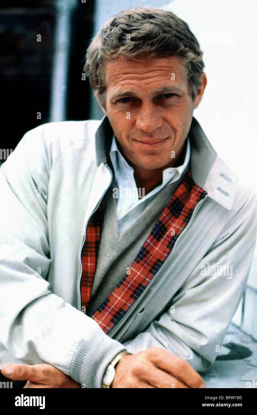 STEVE MCQUEEN ACTOR (1974) - Stock Image