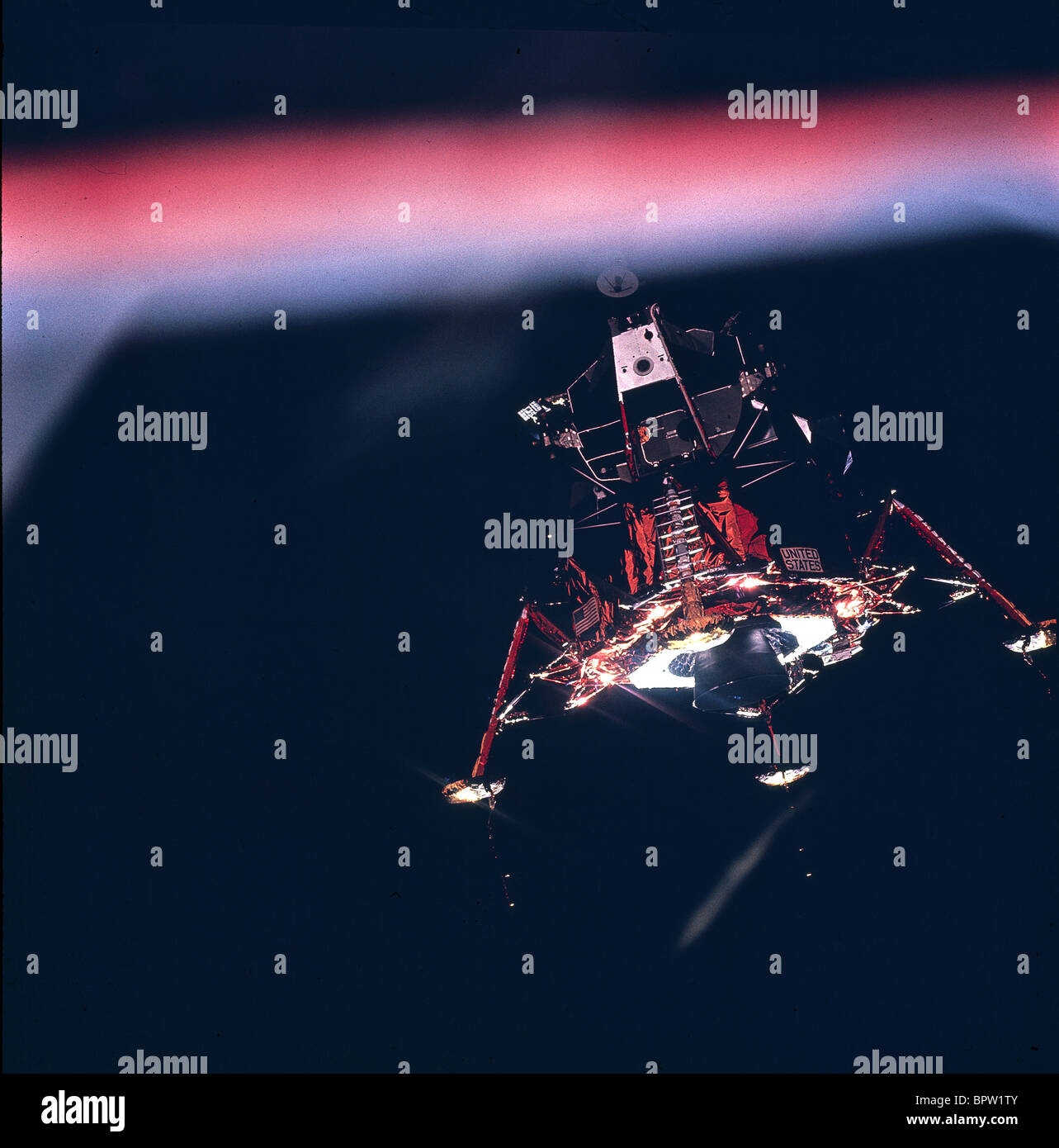 LUNAR MODULE APOLLO 11 (1969) - Stock Image