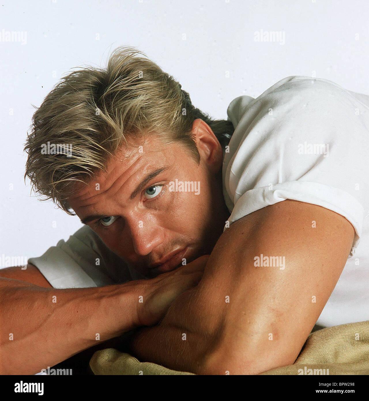 DOLPH LUNDGREN ACTOR (1987) - Stock Image