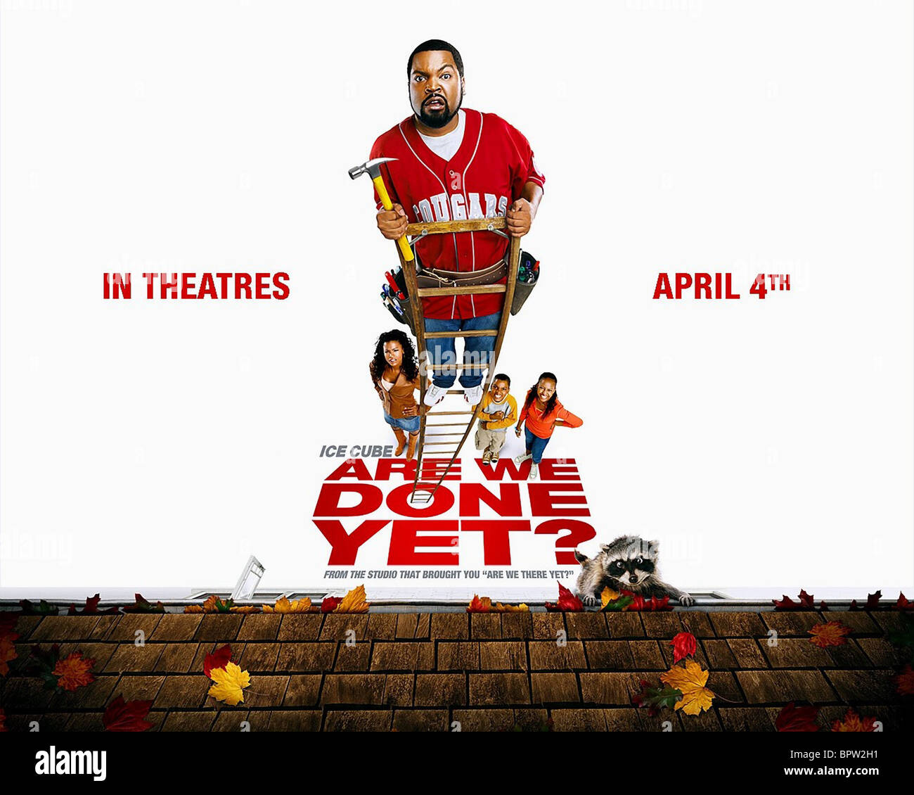 ICE CUBE POSTER ARE WE DONE YET? (2007) - Stock Image