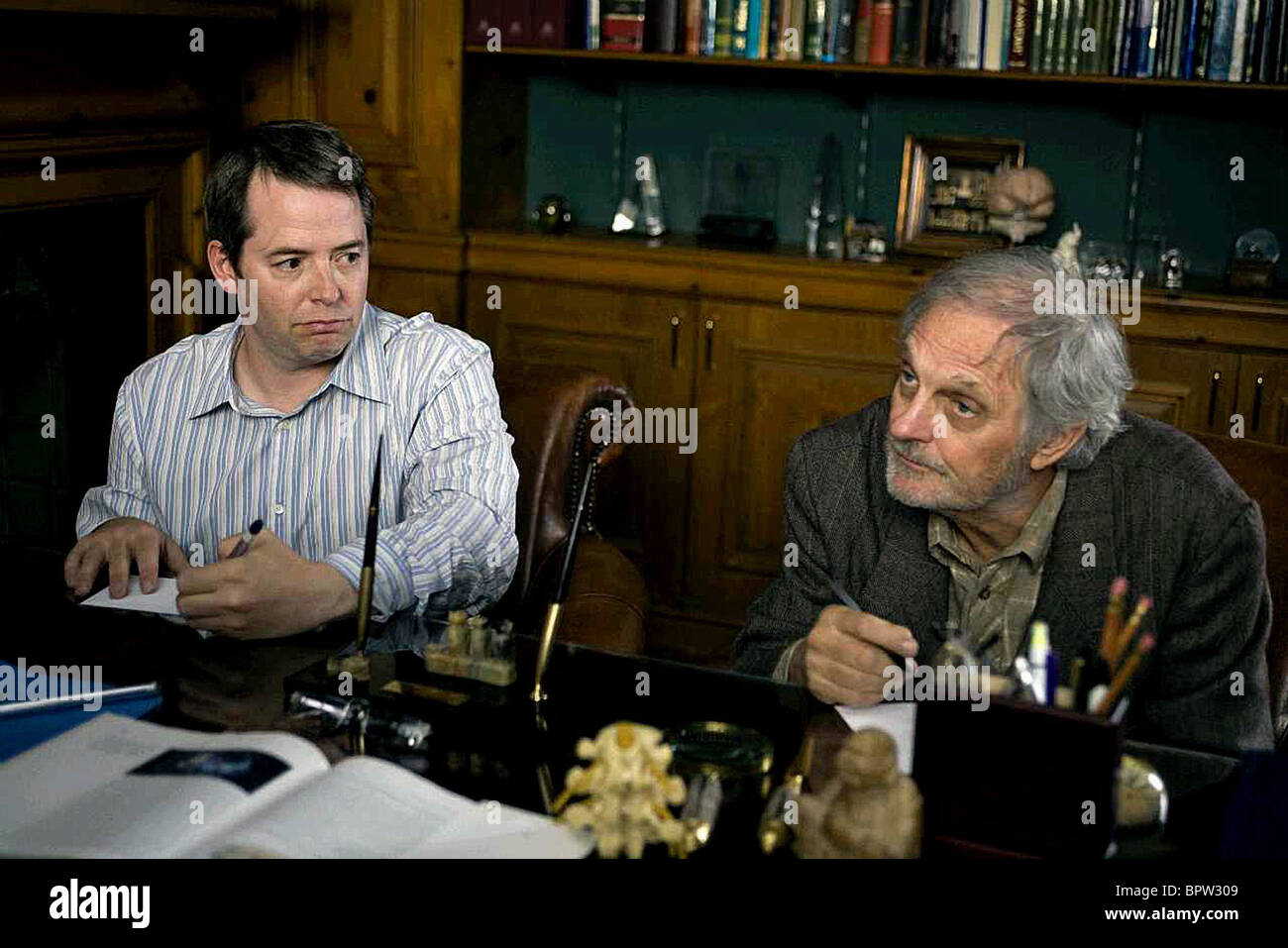 MATTHEW BRODERICK & ALAN ALDA DIMINISHED CAPACITY (2008) - Stock Image
