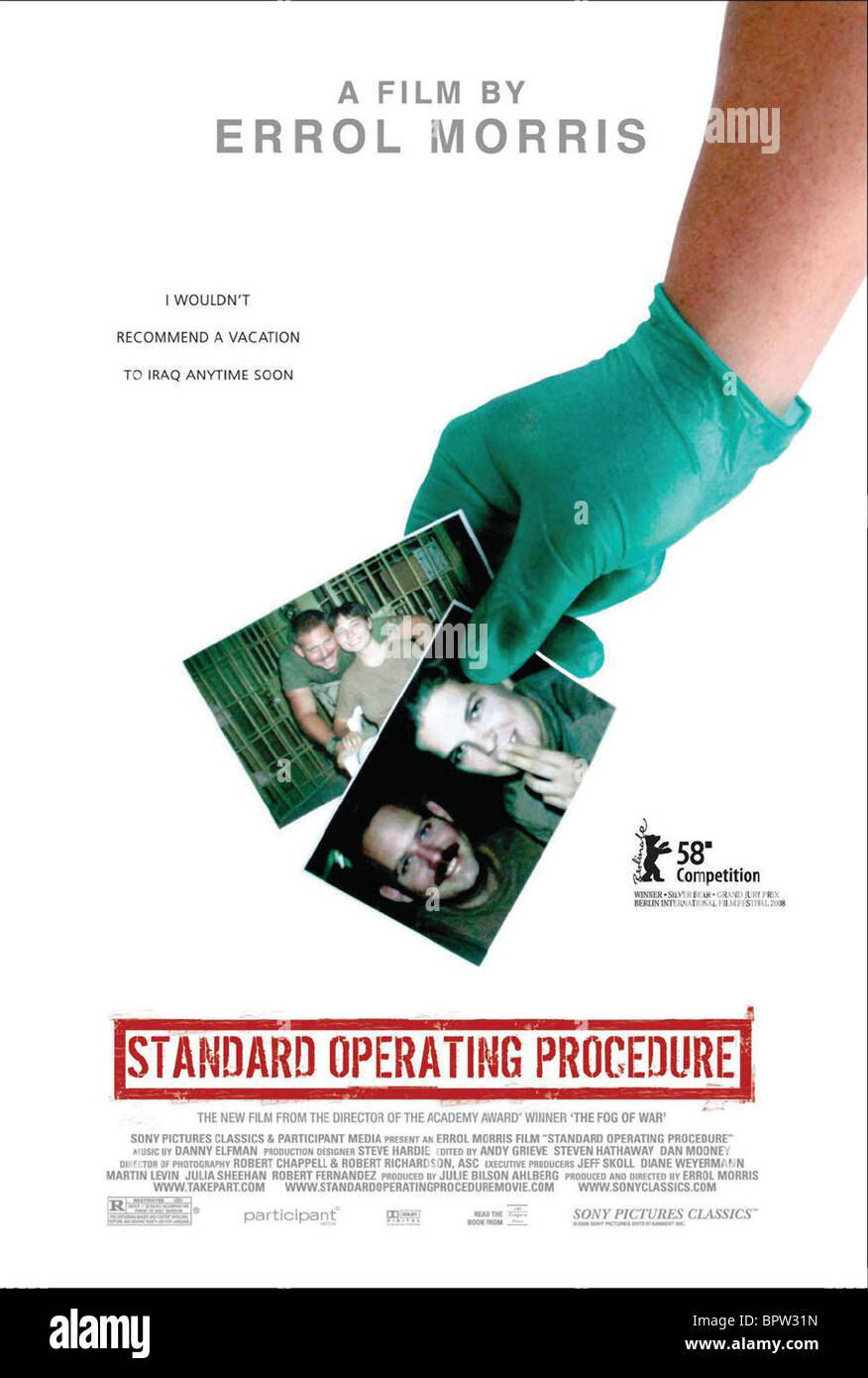 MOVIE POSTER STANDARD OPERATING PROCEDURE (2008) - Stock Image