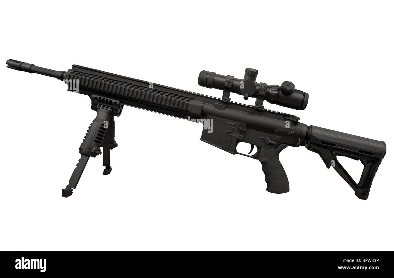 Beretta Assualt Rifle ARX160 Stock Photo