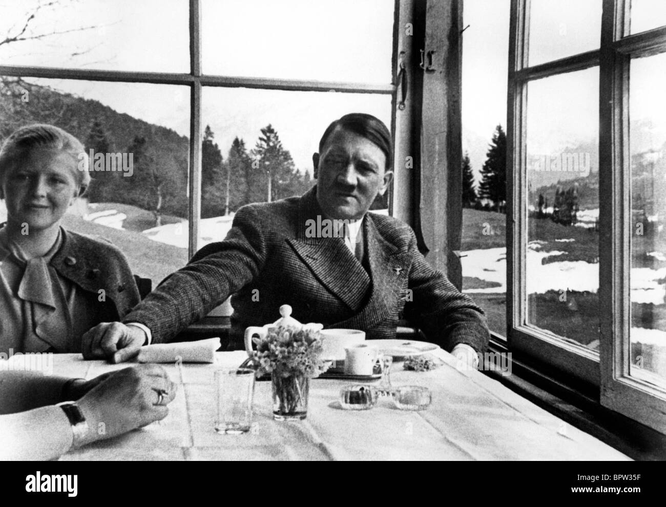 ADOLF HITLER NAZI LEADER 01 May 1940 Stock Photo