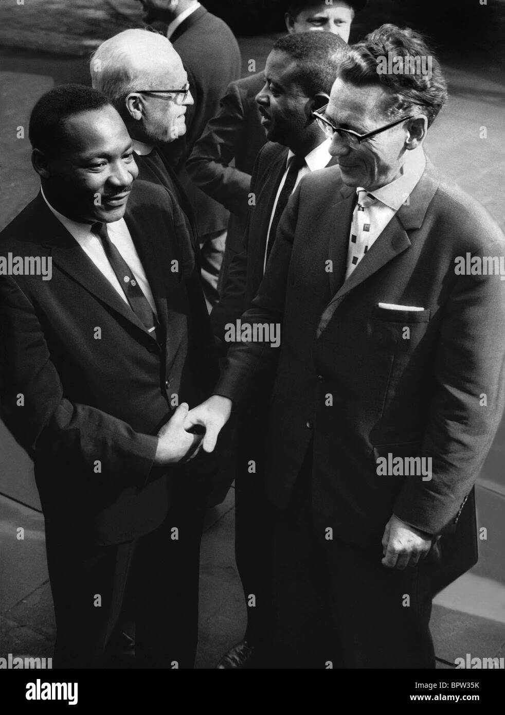 DR. MARTIN LUTHER KING BLACK WRIGHTS CAMPAIGNER 01 May 1964 - Stock Image