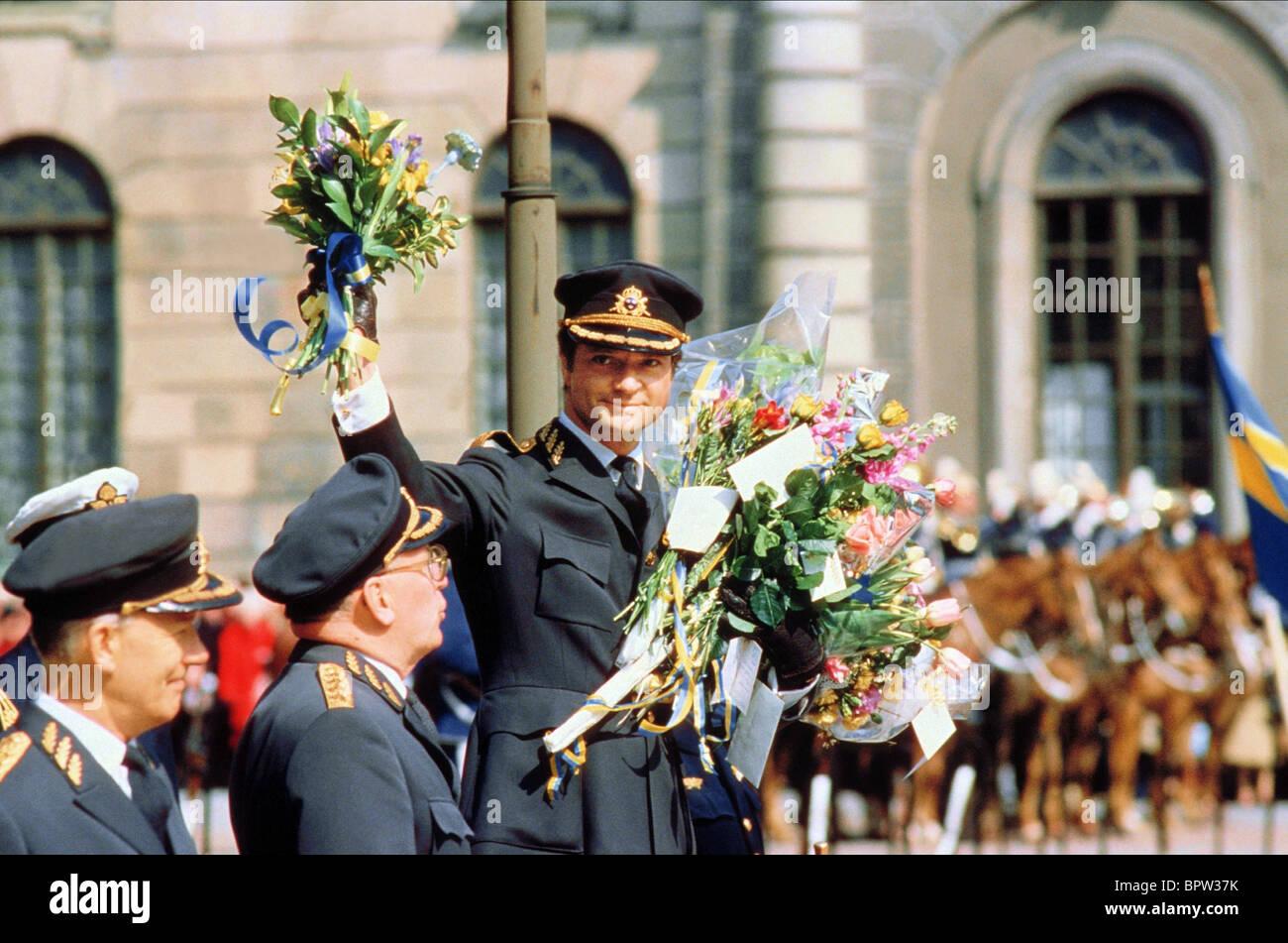 CARL XVI GUSTAF OF SWEDEN KING OF SWEDEN 01 June 1970 - Stock Image