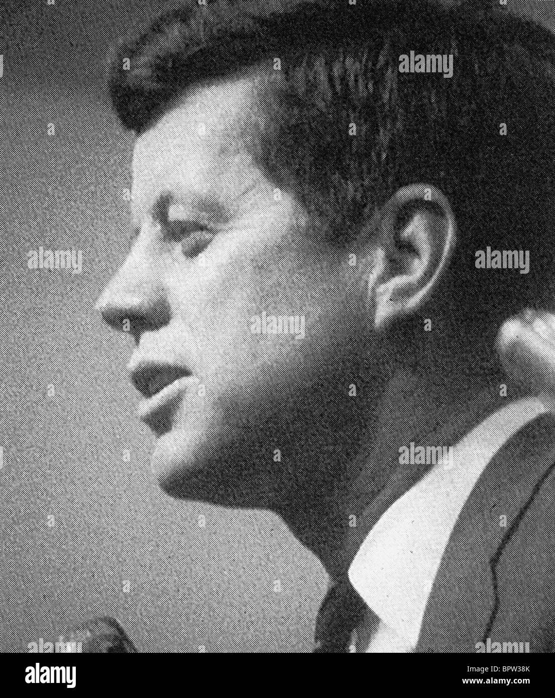 JOHN F. KENNEDY PRESIDENT OF THE UNITED STATES 01 June 1960 Stock Photo