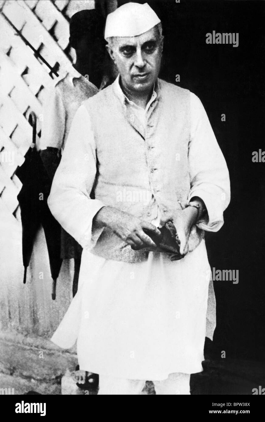 JAWAHARLAL NEHRU FIRST PRIME MINISTER OF INDIA 01 June 1946 - Stock Image