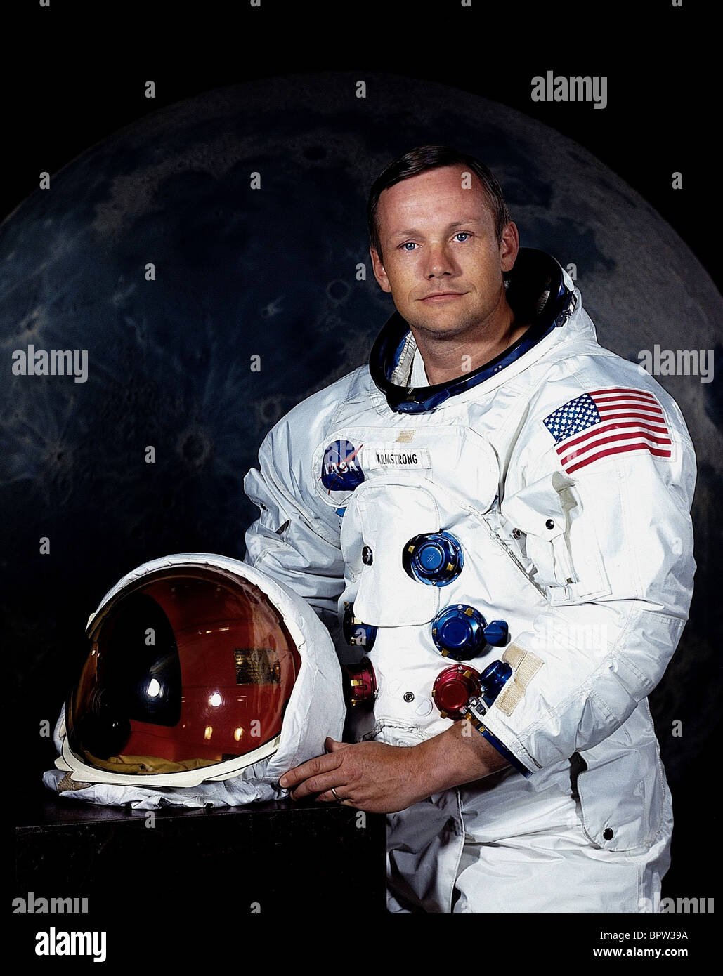 NEIL ARMSTRONG APOLLO 11 ASTRONAUT 16 July 1969 Stock Photo