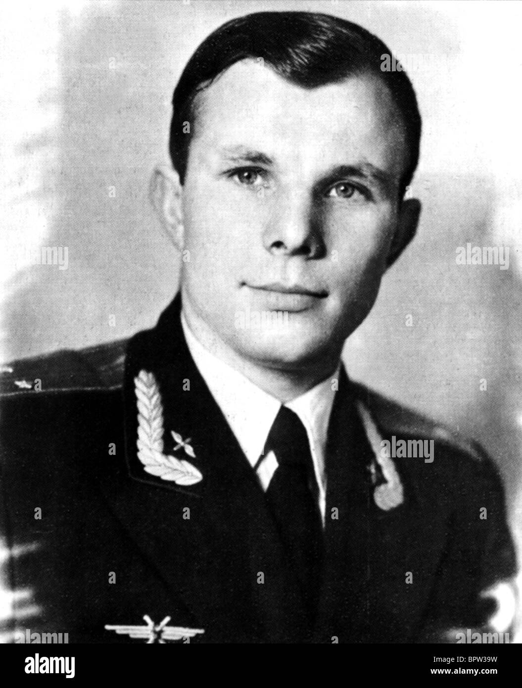 YURI GAGARIN RUSSIAN COSMONAUT 12 April 1957 - Stock Image