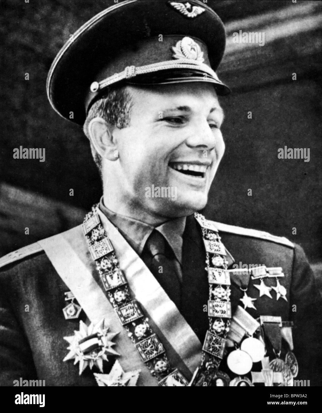 YURI GAGARIN RUSSIAN COSMONAUT 16 January 1962 - Stock Image