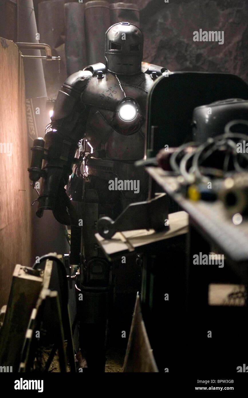 Iron Monger Iron Man 2008 Stock Photo Alamy