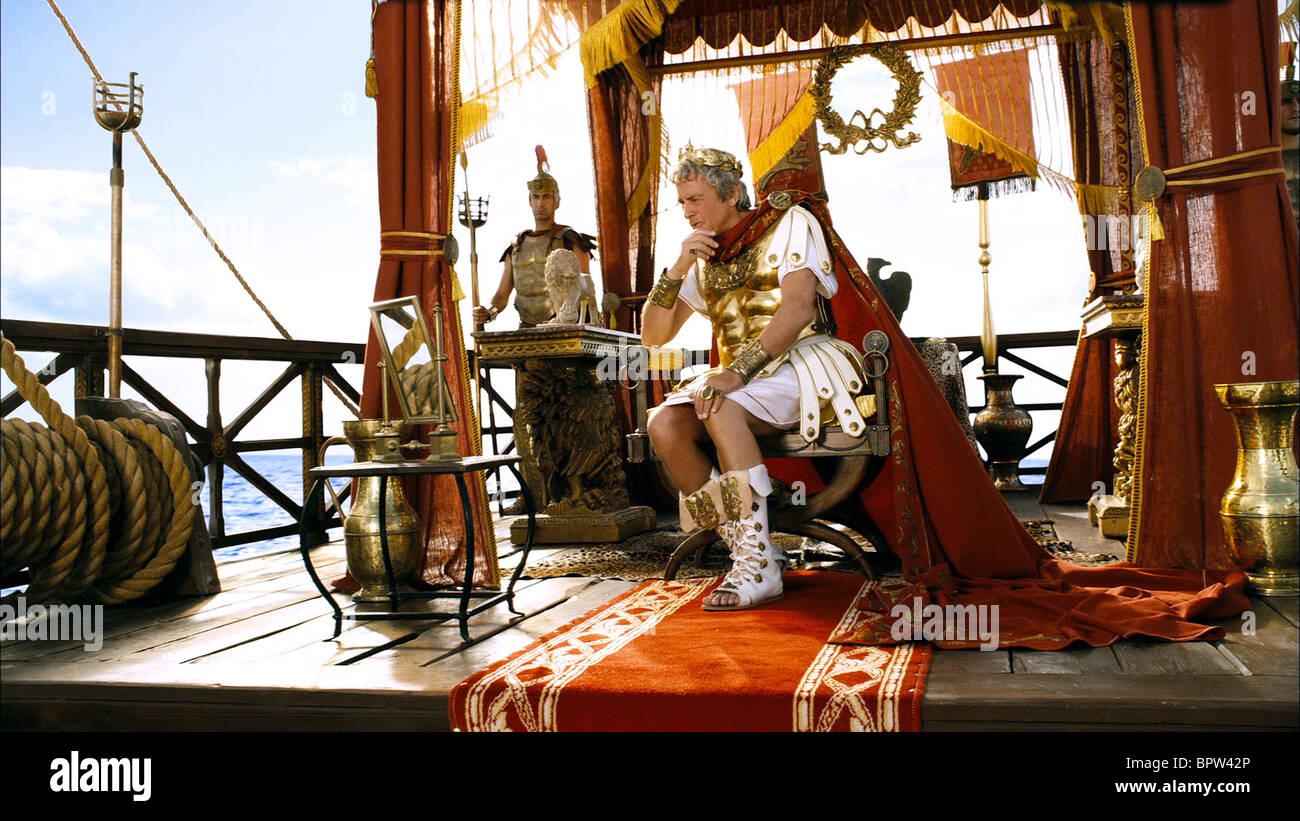 ALAIN DELON ASTERIX AT THE OLYMPIC GAMES (2008) Stock Photo