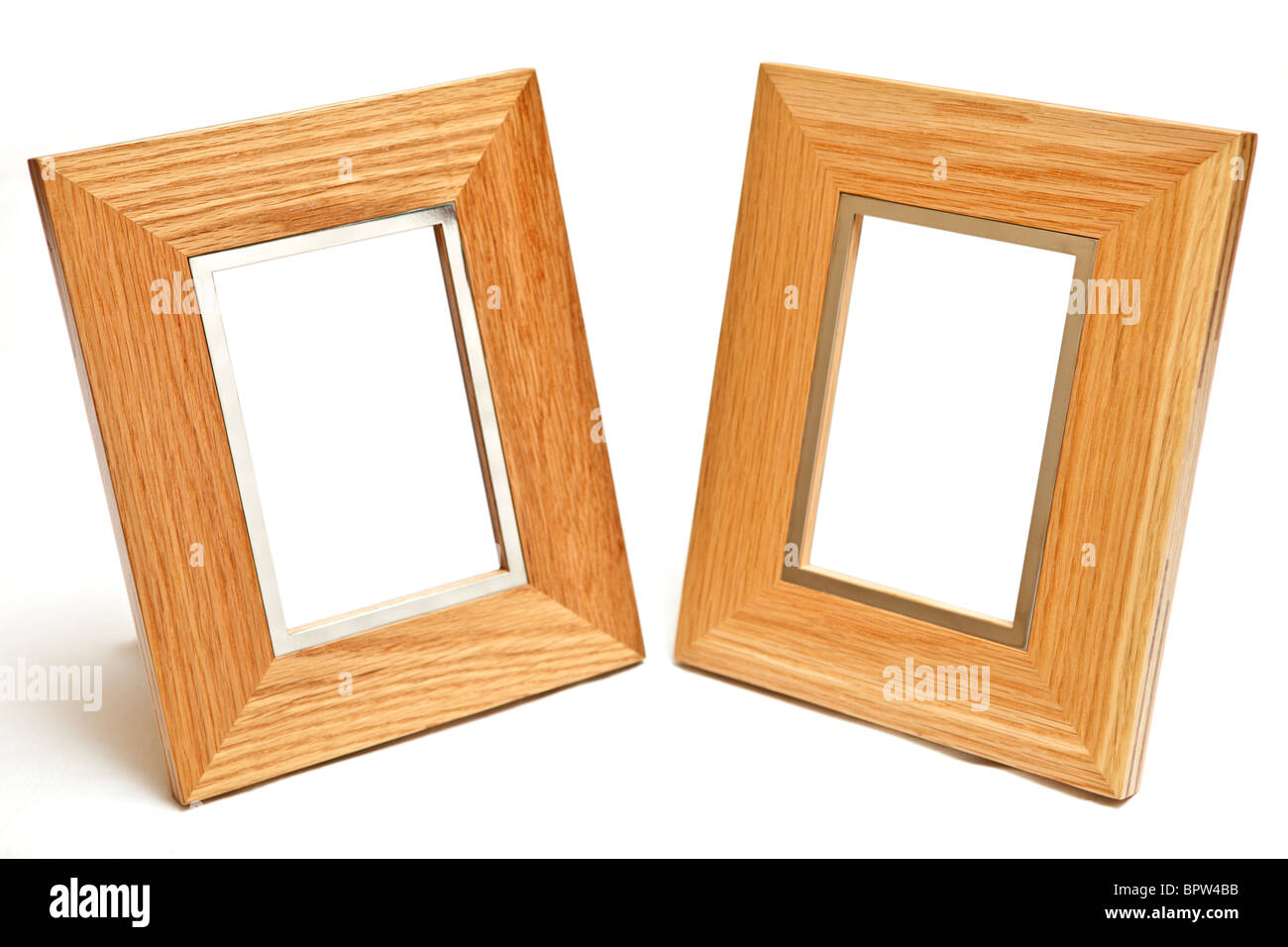 modern wood picture frames. Modern Wooden Frames Isolated On White - Stock Image Modern Wood Picture X