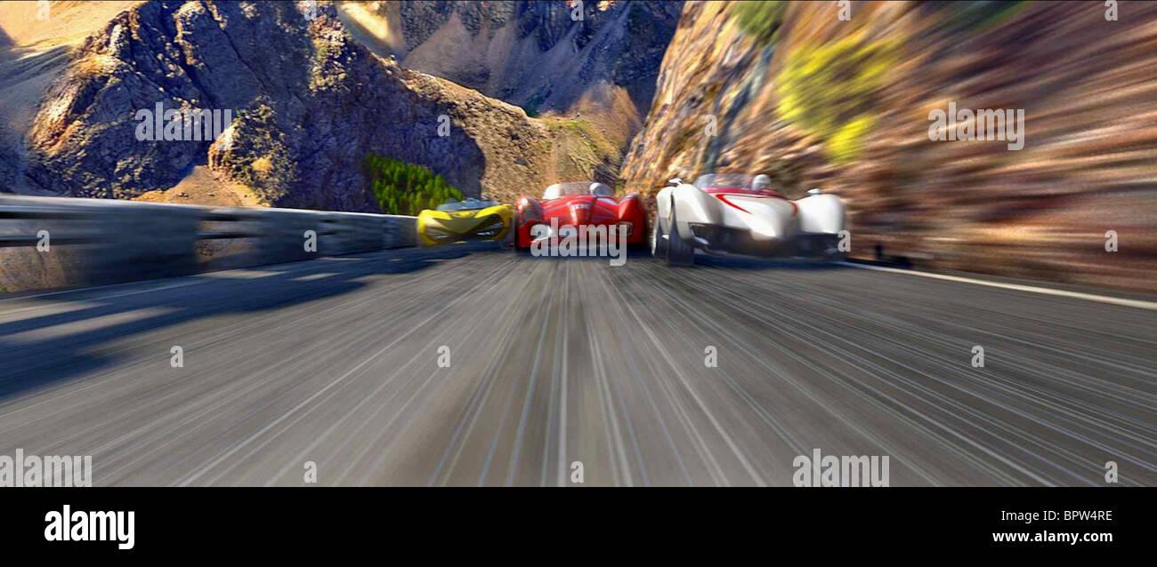 Racer Car Stock Photos Images Alamy Circuit Map For Bromyard Speed Festival Race Scene 2008 Image