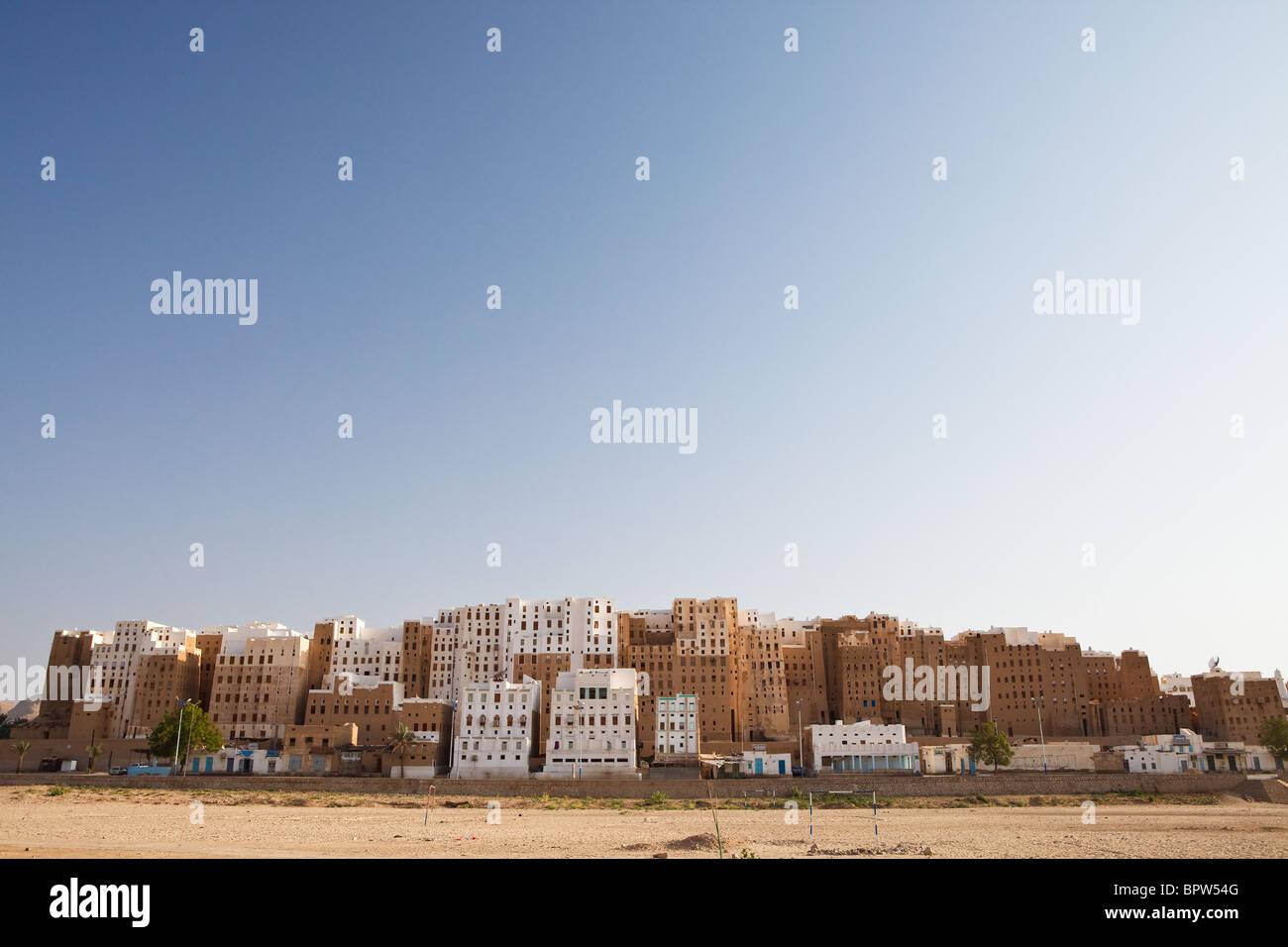 Shibam, Wadi Hadramaut, Yemen - Stock Image