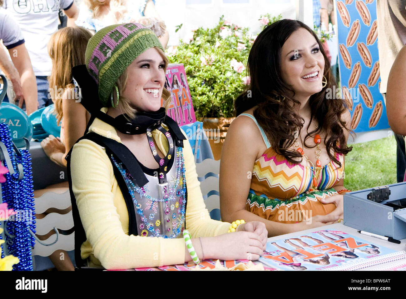 Rumer Willis Katharine Mcphee The House Bunny 2008 Stock Photo Alamy