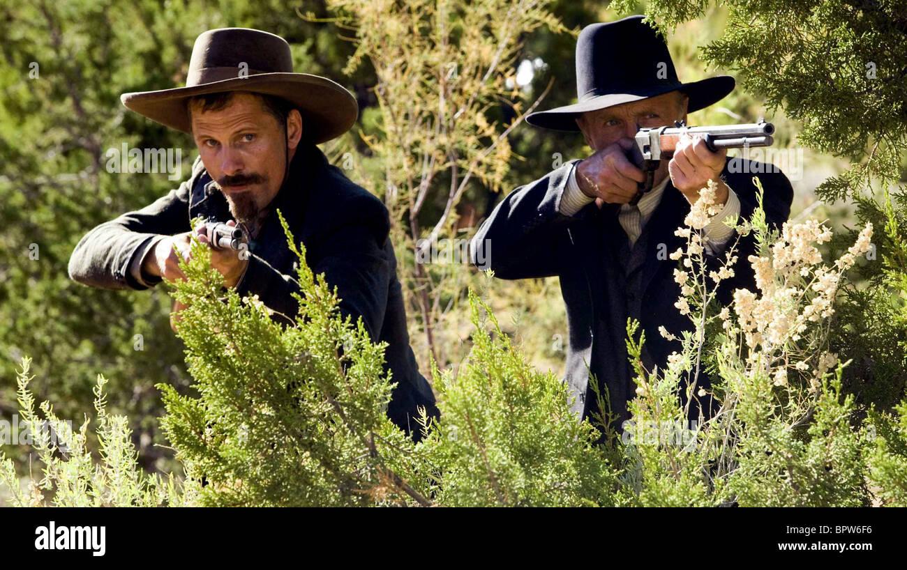 viggo mortensen amp ed harris appaloosa 2008 stock photo