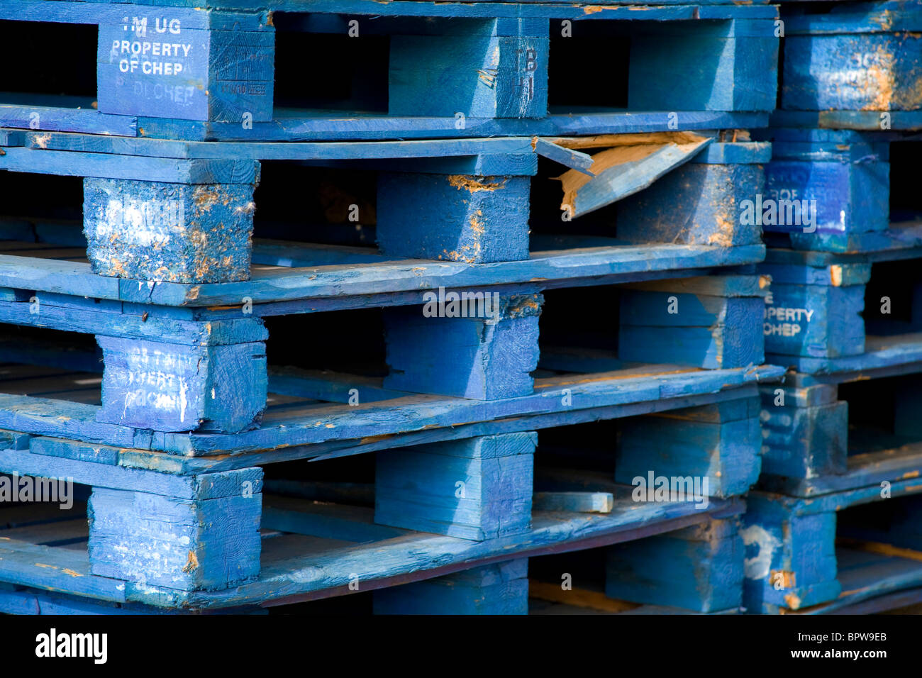 Chep Pallets Uk Stock Photos & Chep Pallets Uk Stock Images