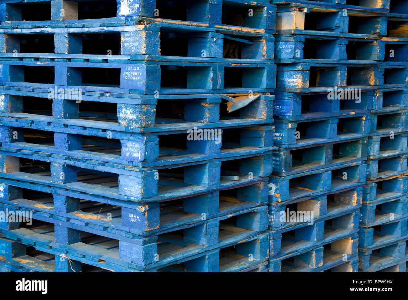 Chep Pallets Stock Photos & Chep Pallets Stock Images - Alamy