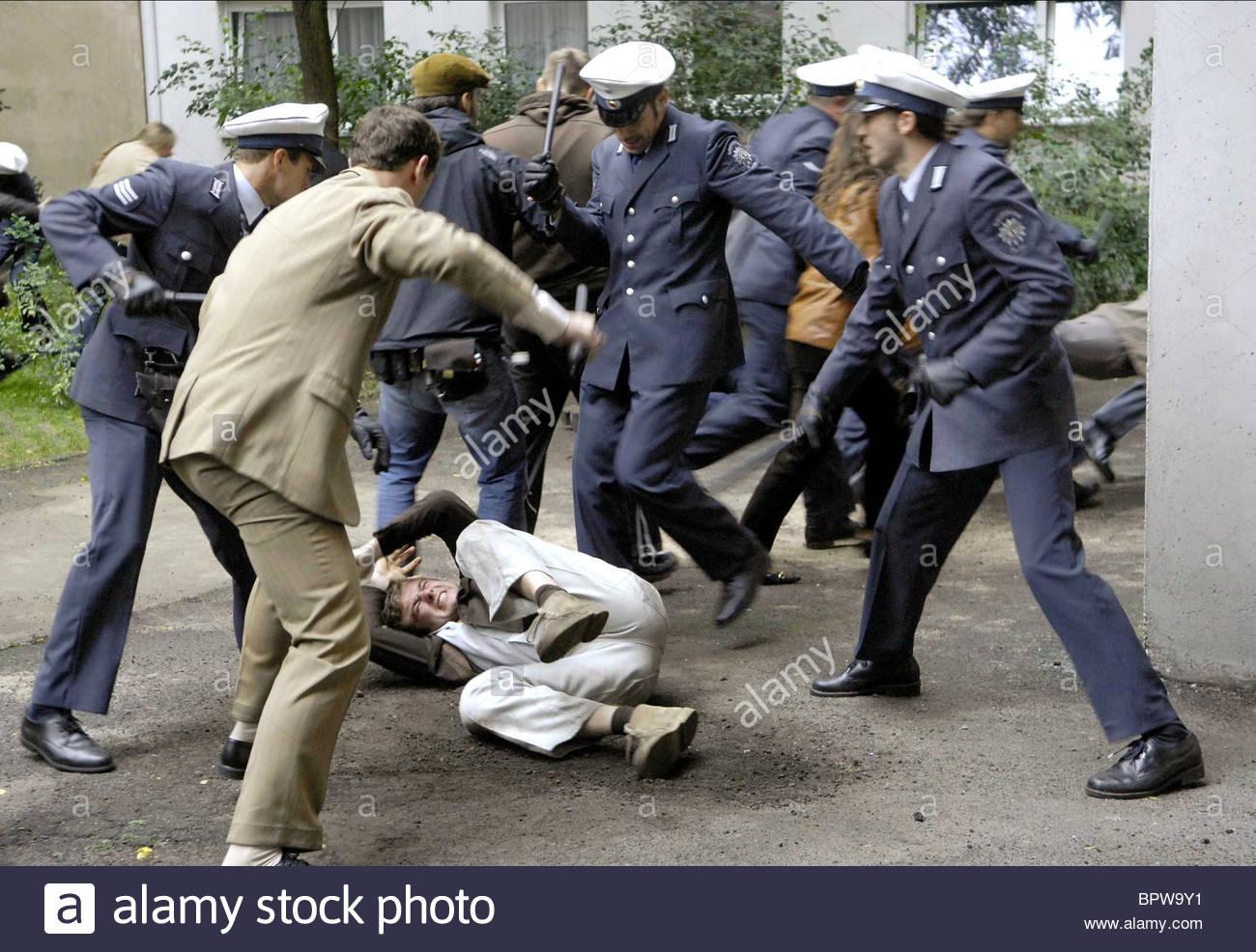 POLICE VIOLENCE THE BAADER MEINHOF COMPLEX; DER BAADER MEINHOF KOMPLEX (2008) - Stock Image