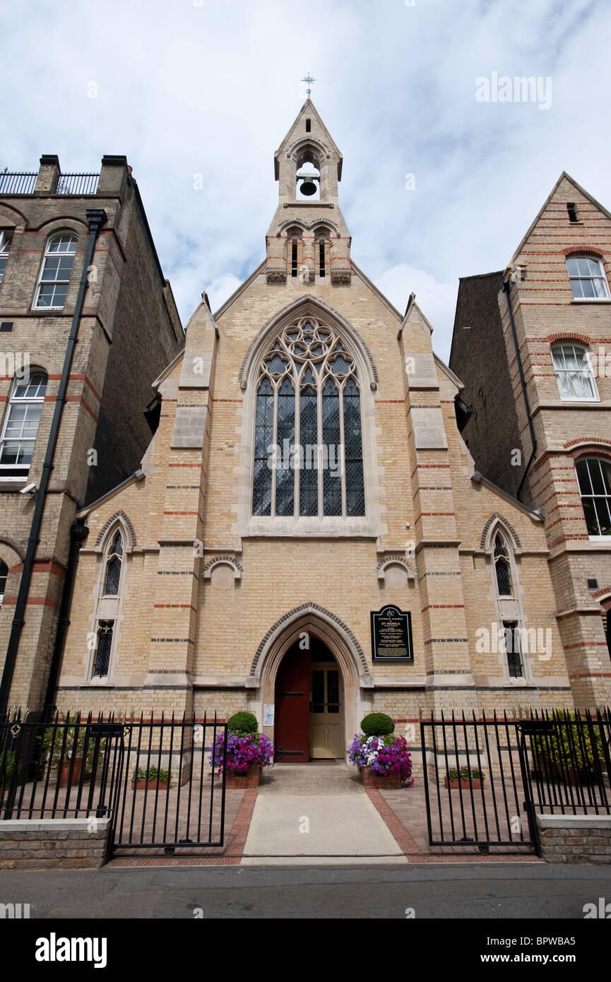 Shoreditch Church: Catholic Church Of St Monica, Hoxton Square, Hackney
