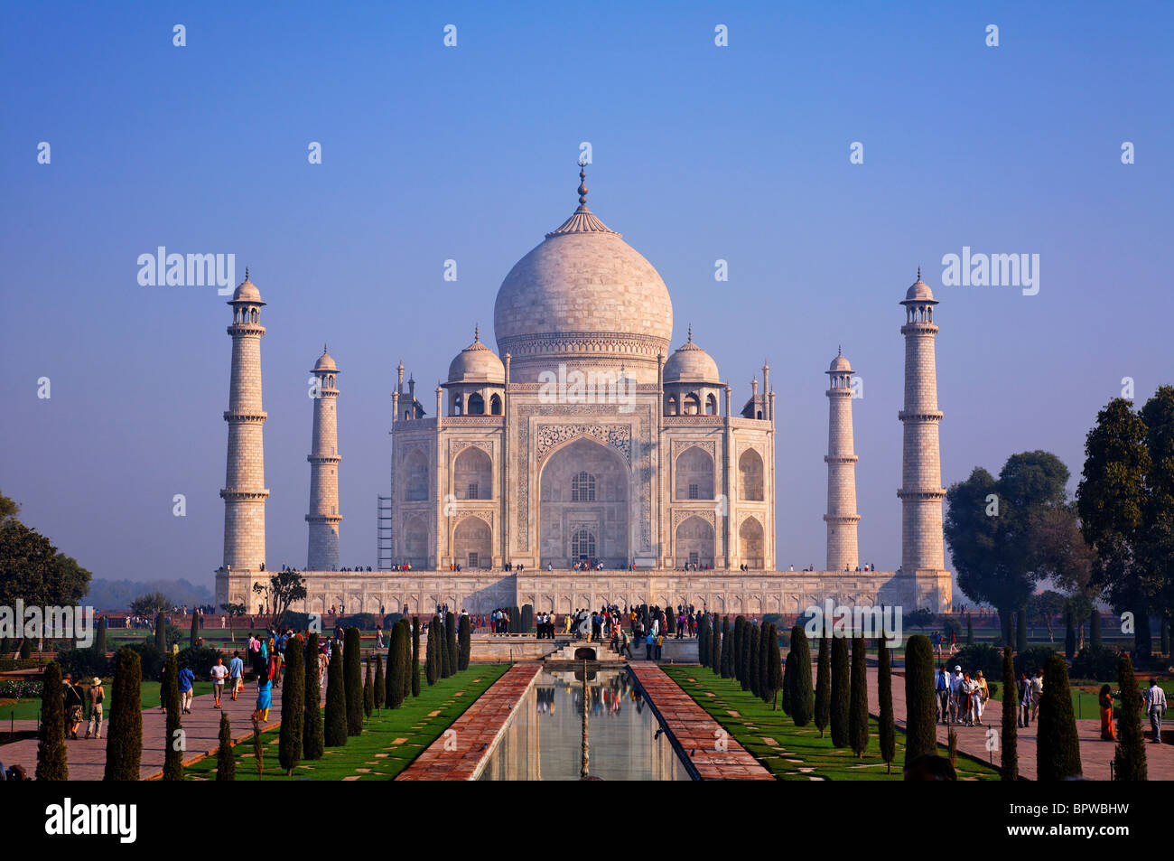 The Taj Mahal, Agra, Uttar Pradesh, India Stock Photo