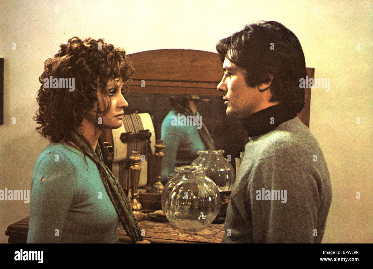 CARLA GRAVINA, ALAIN DELON, BIG GUNS - TONY ARZENTA, 1973 - Stock Image