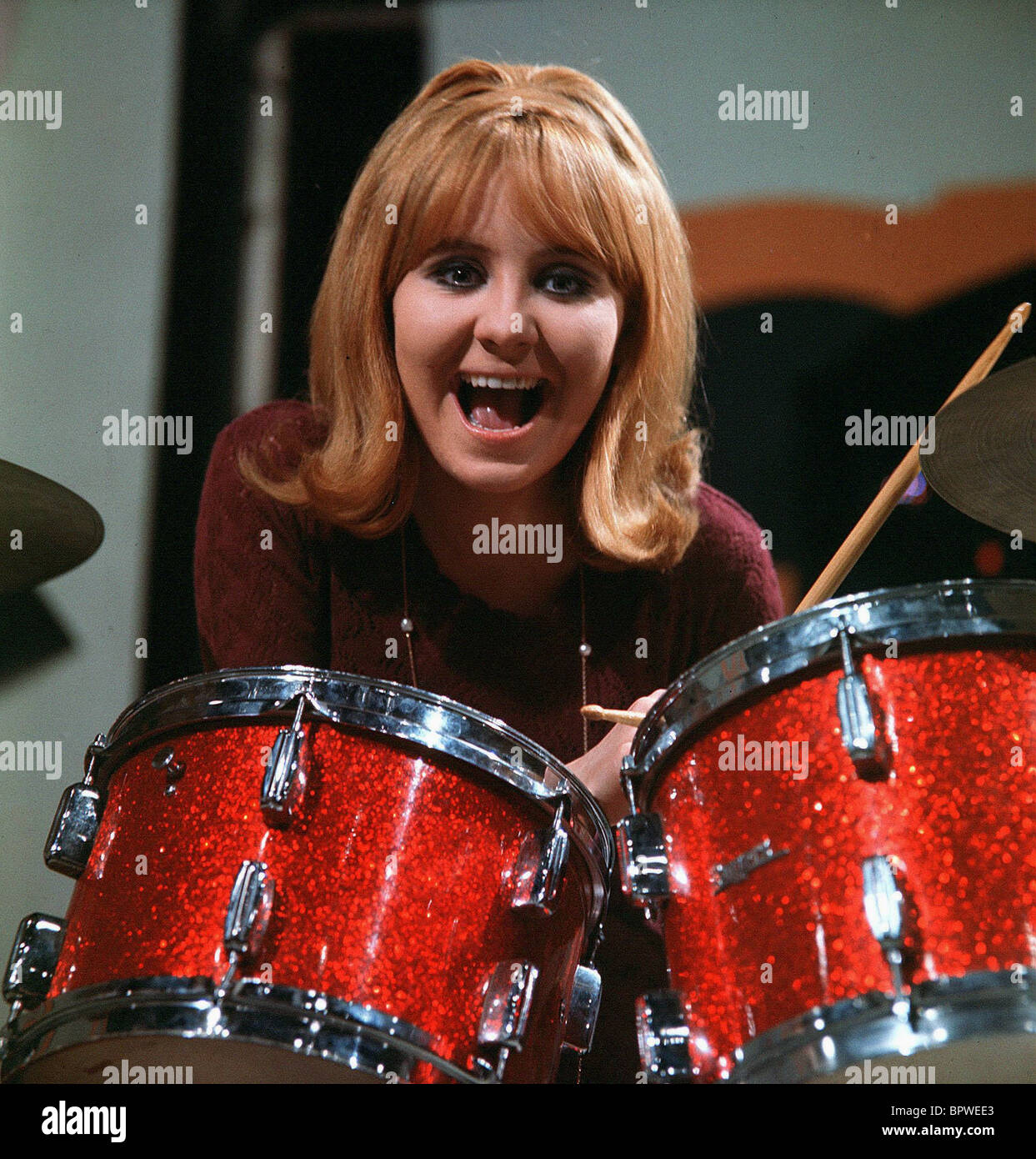LULU SINGER (1969) - Stock Image
