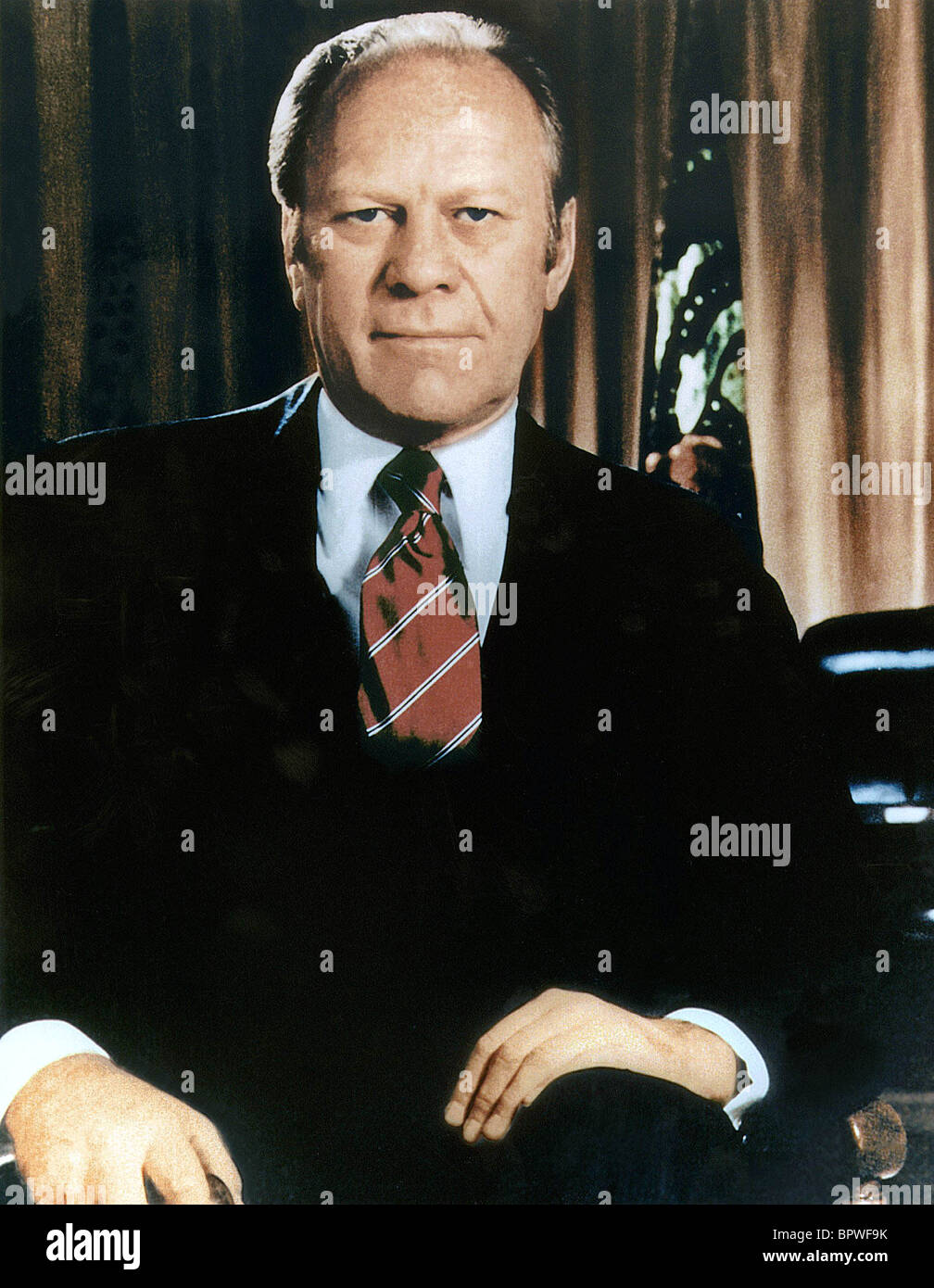 Gerald Ford Portrait Stock Photos Amp Gerald Ford Portrait