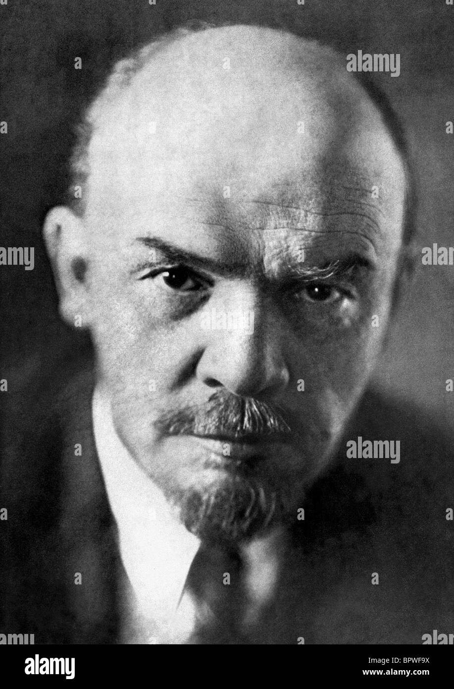 WLADIMIR IIJITSCH LENIN FOUNDER OF THE USSR 02 March 1933 RKO - Stock Image