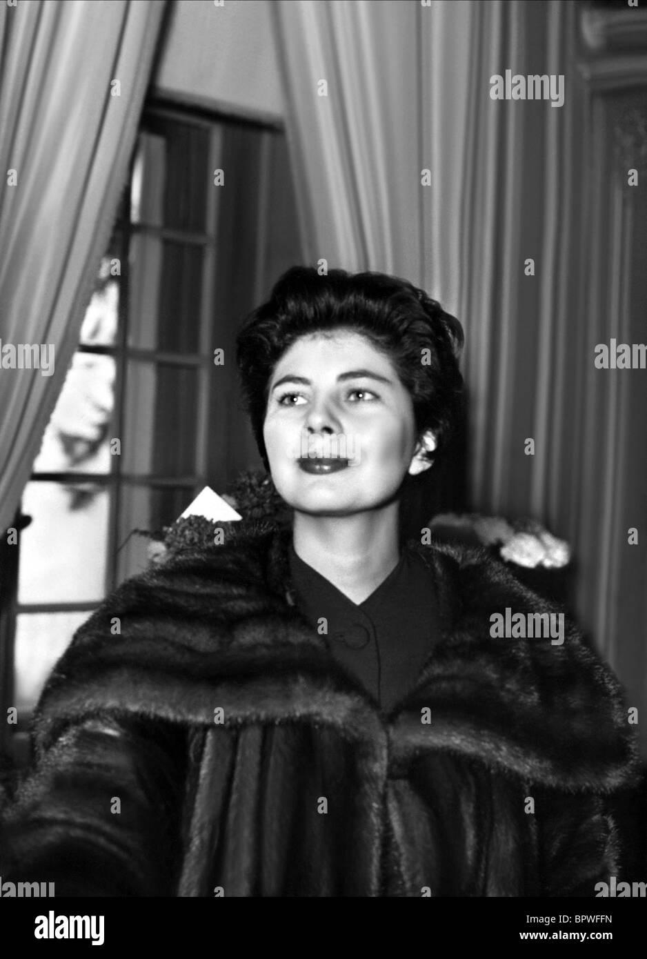 SORAYA ESFANDIARY-BAKHTIARI QUEEN CONSORT OF SHAH OF IRAN 01 June 1960 - Stock Image