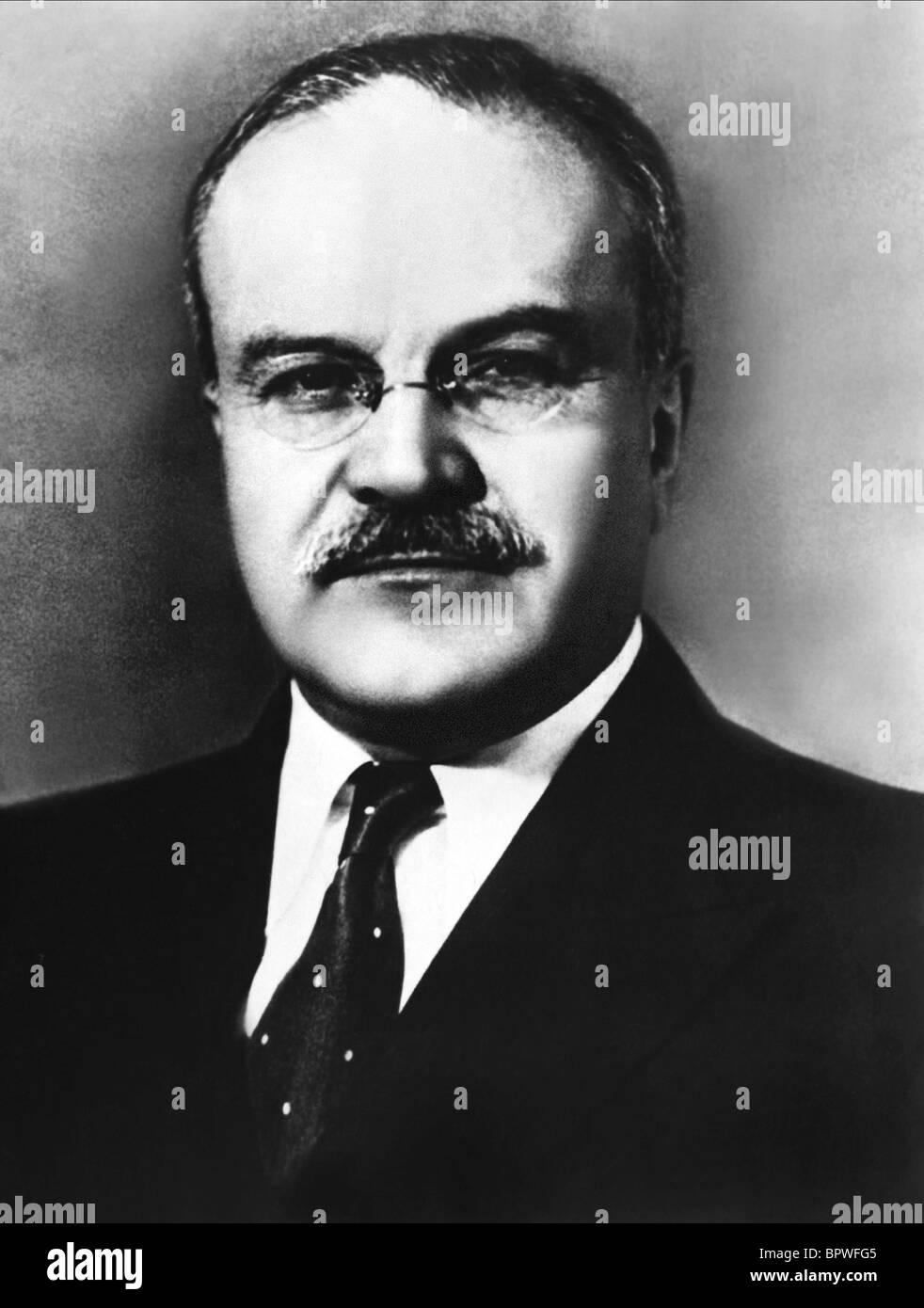 VYACHESLAV MOLOTOV SOVIET DIPLOMAT 01 June 1959 - Stock Image