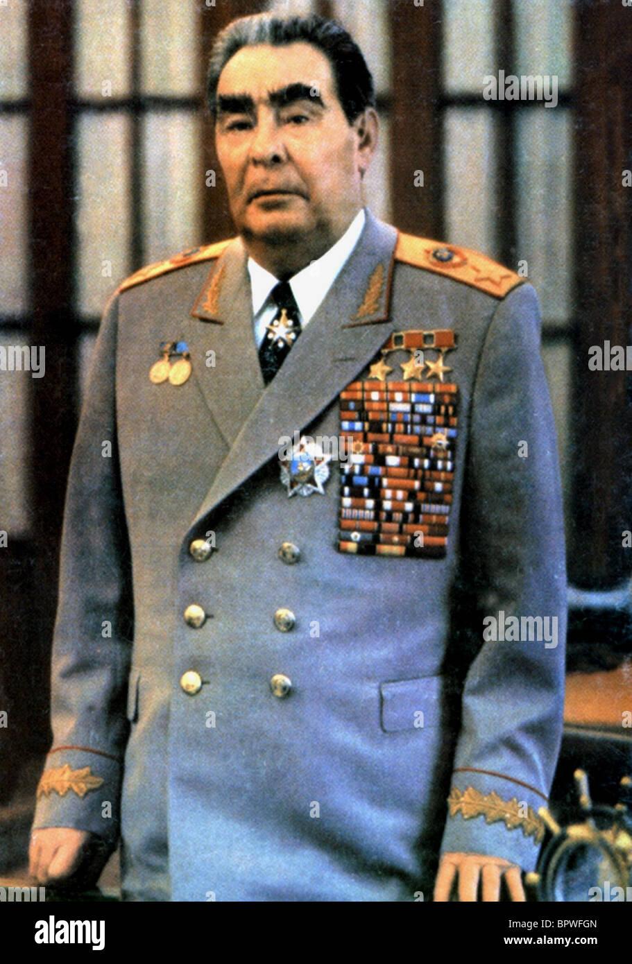 LEONID LIYICH BREZHNEV PRESIDENT OF SOVIET UNION 02 June 1979 - Stock Image