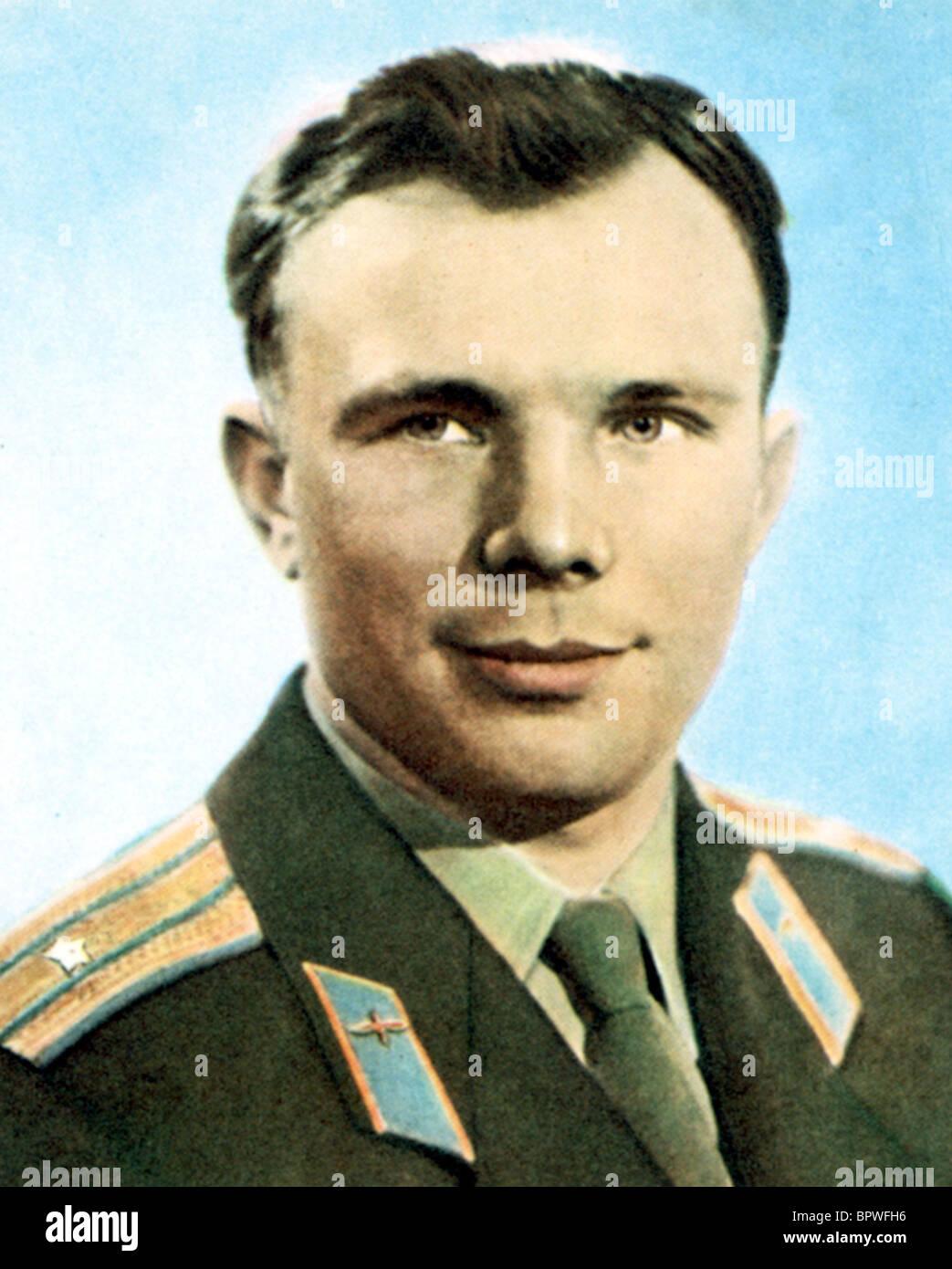 YURI GAGARIN RUSSIAN COSMONAUT 12 April 1961 - Stock Image