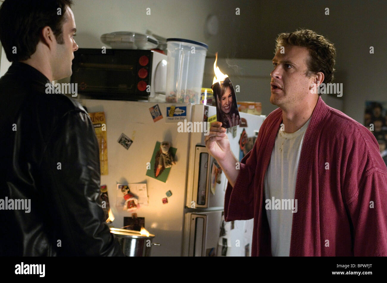 Bill Hader Jason Segel Forgetting Sarah Marshall 2008 Stock Photo
