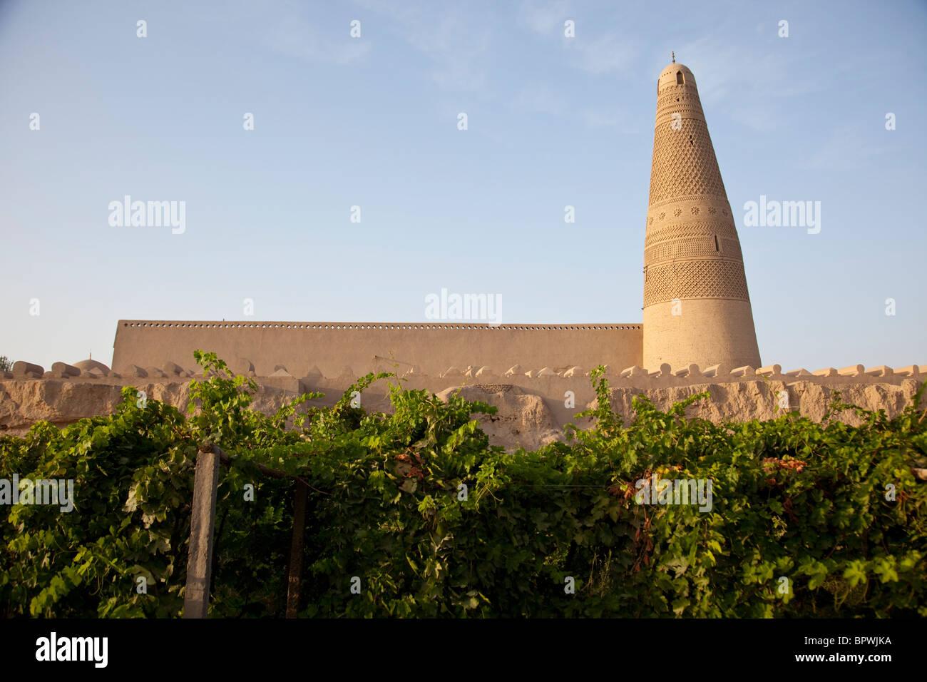 Emin Minaret in Turpan, Xinjiang, China. - Stock Image