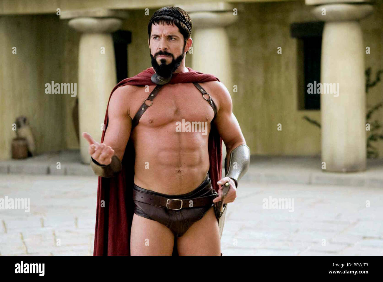 SEAN MAGUIRE MEET THE SPARTANS (2008) - Stock Image